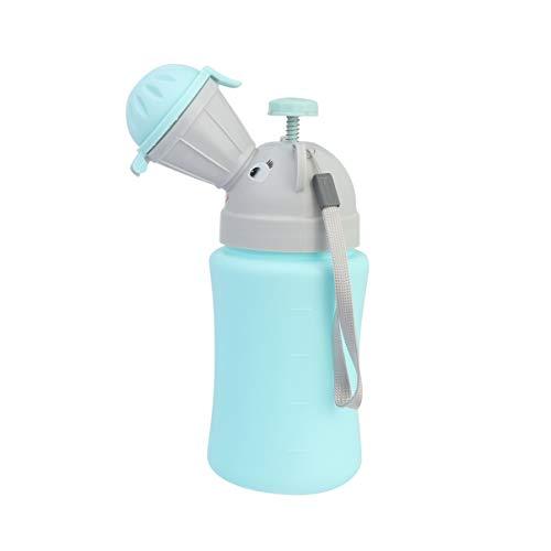 NUOBESTY bebé Orinal portátil Inodoro de Emergencia Orinal de Coche Orinal portátil Botella orinar Herramienta Inodoro de Emergencia para niños niño
