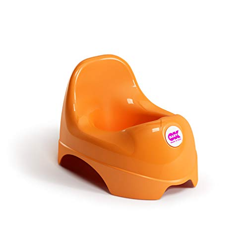 OK BABY n37094530X Relax–Asiento con respaldo, color naranja