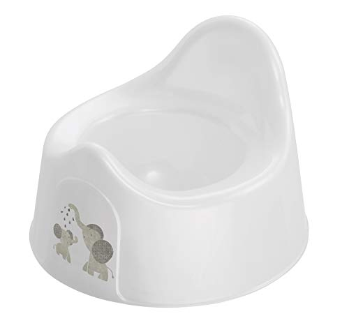 Rotho Babydesign Orinal, A partir de 18 Meses, Modern Elephants, Bella Bambina, Blanco, 20601 0001 CG