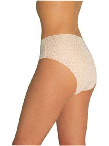 Tigex 80800021 - Pack de 4 bragas desechables, talla M, color blanco