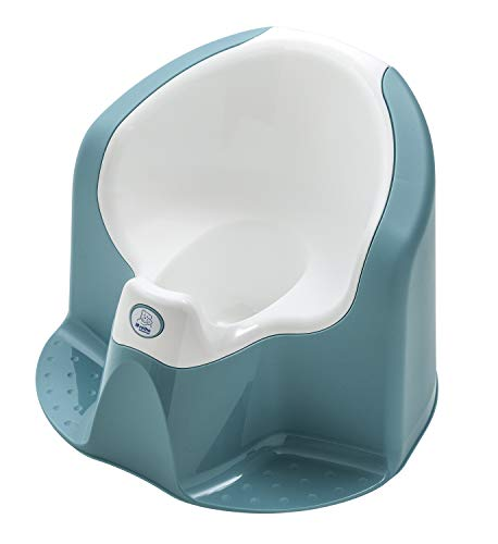 Rotho Babydesign TOP Xtra Orinal Confortable, Con accesorio desmontable, A partir de 18 meses, Lagoon (Azul), 20504029501