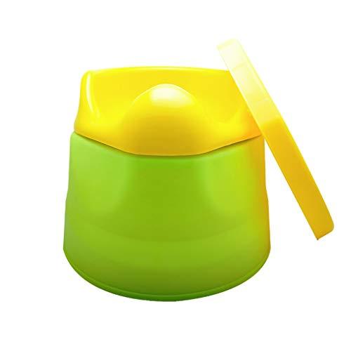 Bacinica for WC Niños Niñas Niños Niño entrenamiento insignificante con la tapa y el recipiente extraíble, fácil limpieza convertible Orinal bebé de formación del tocador