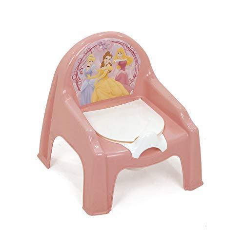 Arditex WD6327 - Silla orinal de plástico, para bebe, diseño Princesas Disney