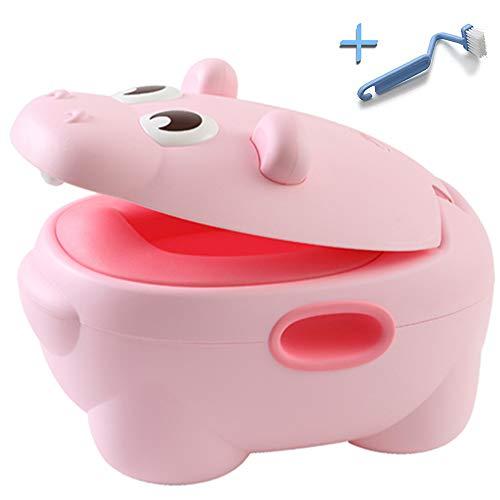 HIPPOTTY Orinal Infantil Para bebé Design 2020 3a generación Inodoro Wc Portátil De Viaje Antideslizante Antivuelco Ergonómico Training Toilet Asiento Para Niñas y Niños
