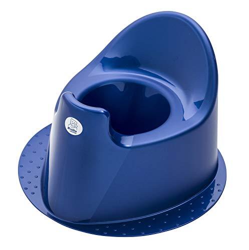 Rotho Babydesign TOP Orinal, Con pie estable, A partir de 18 meses, TOP, Royal Blue Pearl (Azul oscuro), 200030265