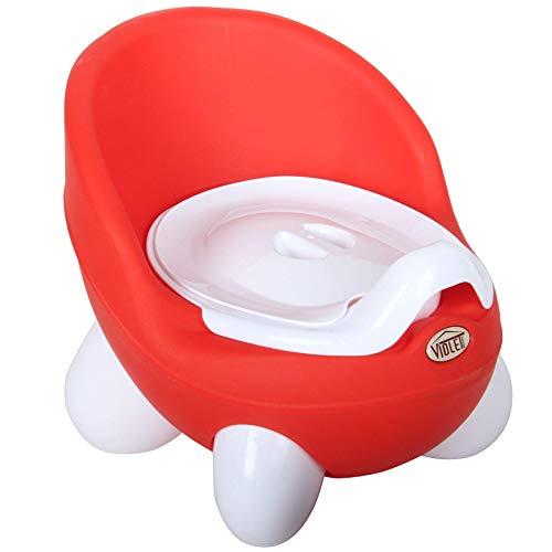 Orinal Infantil, Orinal Bebé, Water para Niños, WC Bebé (Rojo)