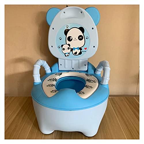 JYDZSW Orinal para niños de 6 meses a 8 años de simulación de inodoro portátil para niños, orinal y niños pequeños recién nacidos, asiento de inodoro infantil (Farbe: 10 panda)