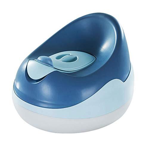 CJshop Reductor WC para Bebé Orinal bebé - formación del tocador for niños y niñas - Diseño Ultra Estable - Los niños pequeños de Asiento de Inodoro de Entrenamiento con Respaldo Orinal con Escalera