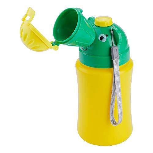 Orinal de emergencia portátil Inodoro Orinal para bebé 500 ml Pee Botella para bebé Niño Niños Coche Viaje Camping(para niño)