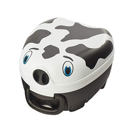 My Carry Potty - Vaca, galardonado asiento de inodoro portátil para bebés, niños y niñas para llevar a cualquier lugar