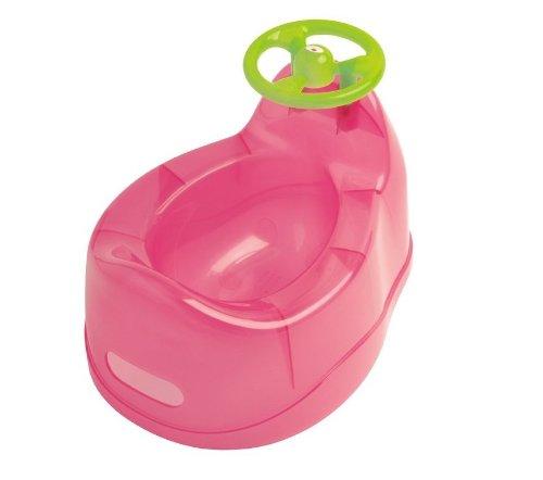 dBb Remond bebé orinal con volante, color rosa translúcido