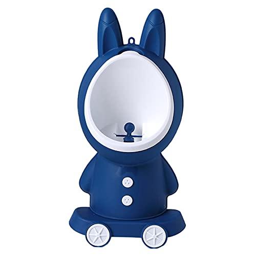 sharprepublic Entrenamiento de orinal de conejo, orinal con forma de conejo para niños pequeños de pie, entrenador de orinal de baño con objetivo divertido - Verde