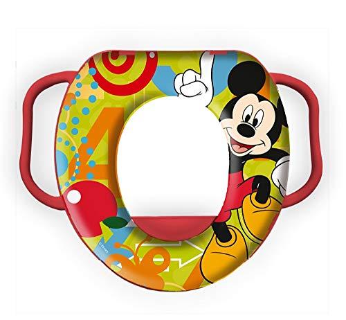 Star Disney Mickey Mouse & Friends Asiento para orinal para bebé, dimensiones: 35 x 30 x 7 cm.