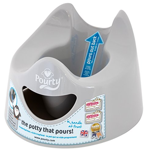 Orinal Pourty easy-to-pour (pingüino gris)